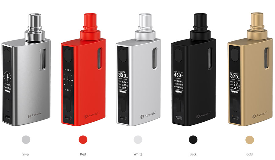 eGrip II Joyetech Colors