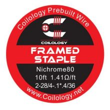 Coilology Framed Staple Ni80 Wire (3m)