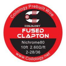 Coilology Fused Clapton Ni80 Wire (3m)